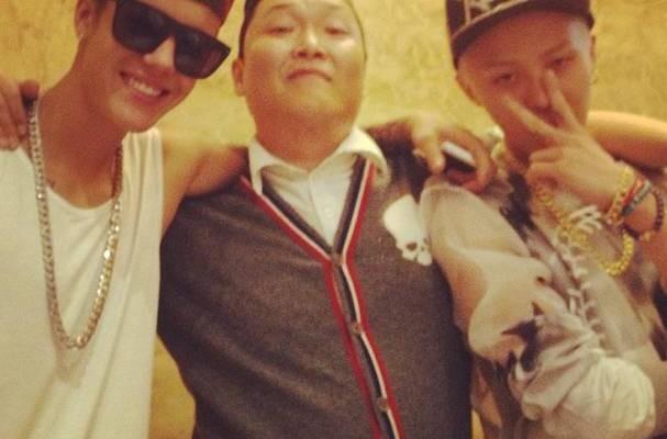 G-Dragon, Bieber
