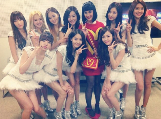 Girls Generation, Katy Perry